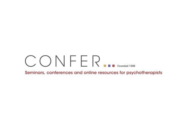 Confer Logo centered on white