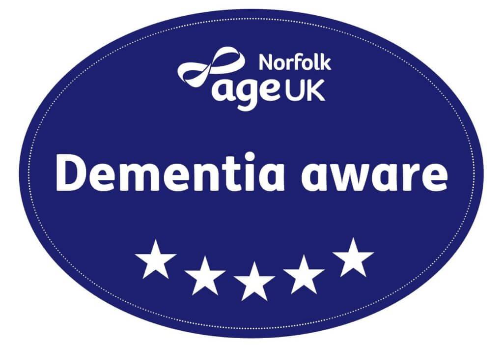 Dementia Aware Logo on white background
